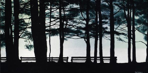 Oil on Canvas - 30 x 15