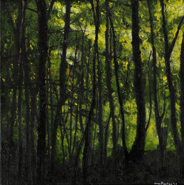 Oil on Canvas - 12 x 12