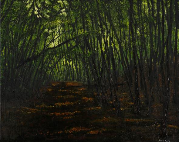Oil on Canvas - 30 x 24