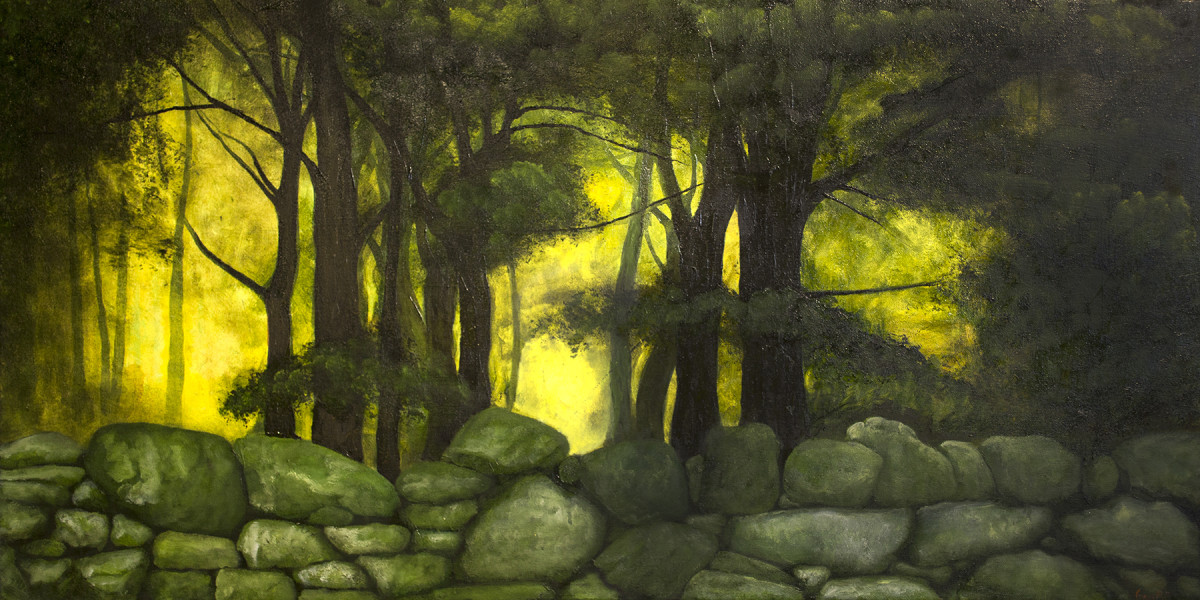 Blackstone 6 - July - Oil on Canvas - 48 x 24