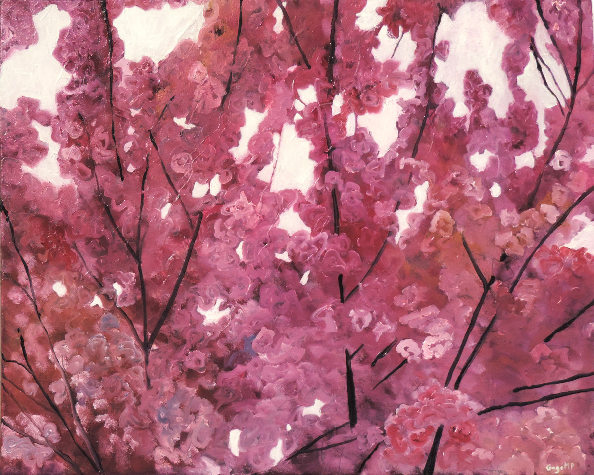 Blackstone 9 - April - Oil on Canvas - 30 x 24