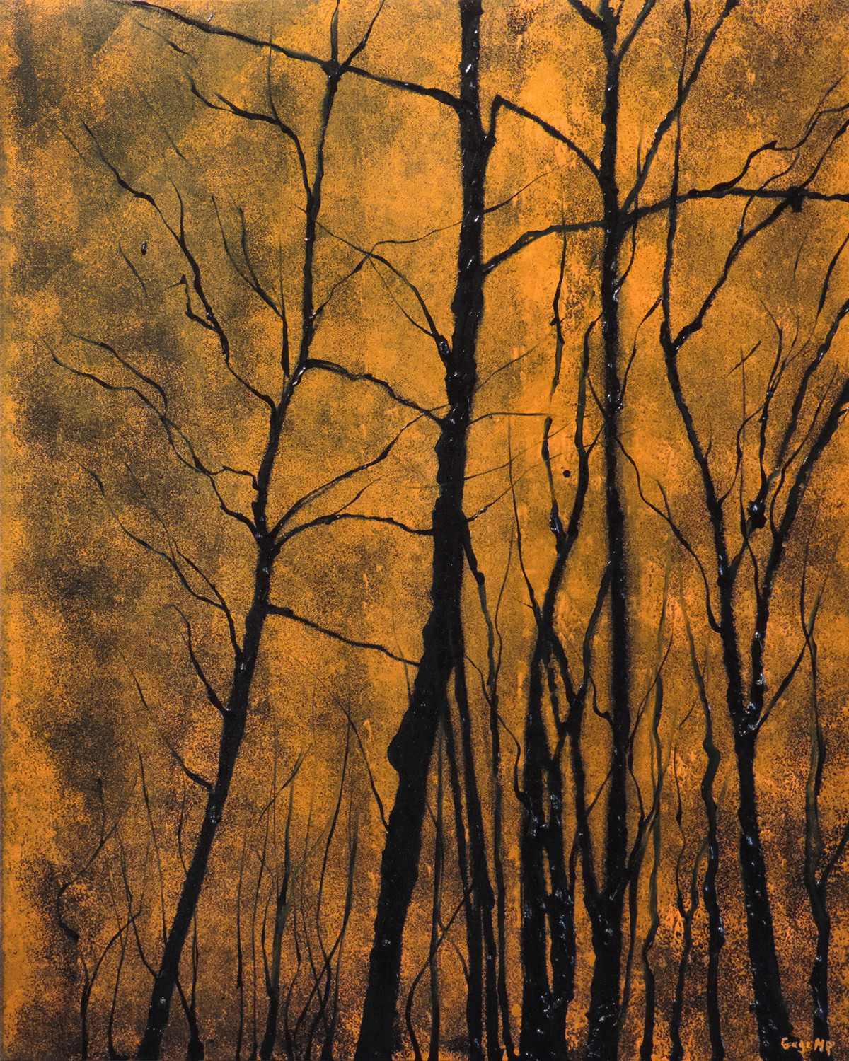 Lincoln Woods 15 - October - Oil on Canvas - 24 x 30