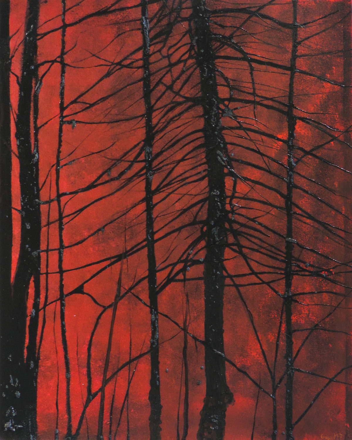 Lincoln Woods 16 - September - Oil on Canvas - 24 x 30