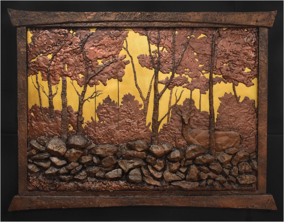 The Calandrelli View - 48 x 36 x 2.5 - Cold Cast Bronze